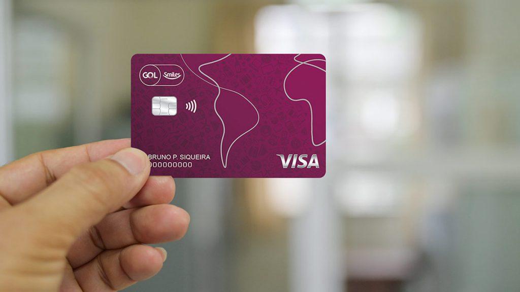 cartão de crédito Gol Smiles